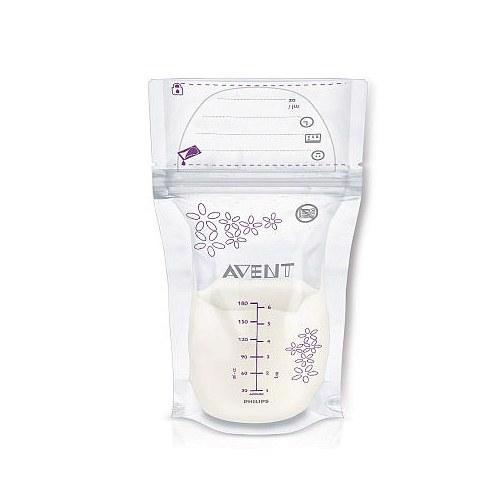 Philips AVENT 6 Ounce Breast Milk Storage Bags - 25 Count