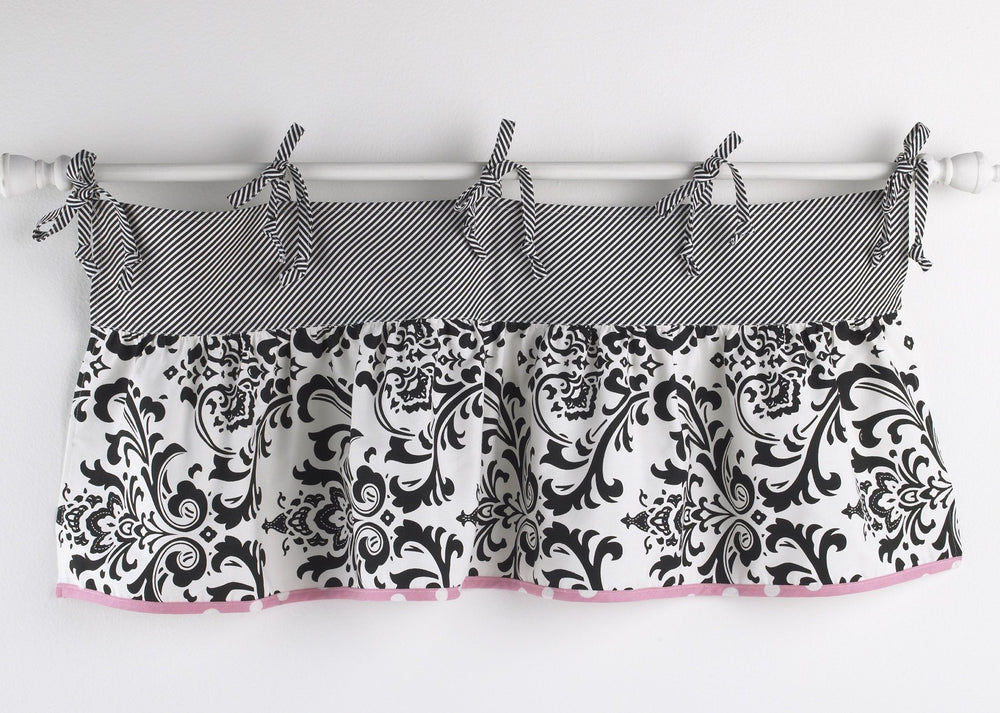 Pink Crib Set For Girls 8PC Girly Collection