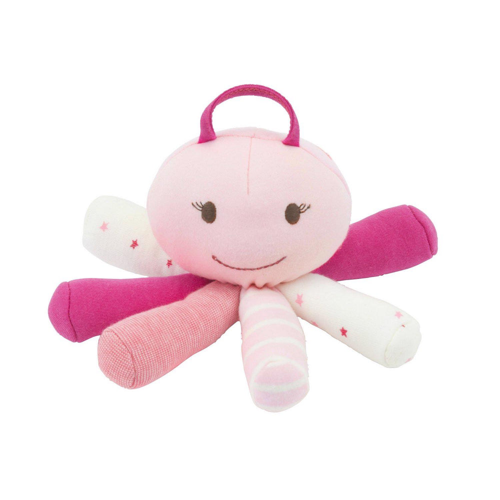 Pink Scraptopus Stuffed Octopus Toy