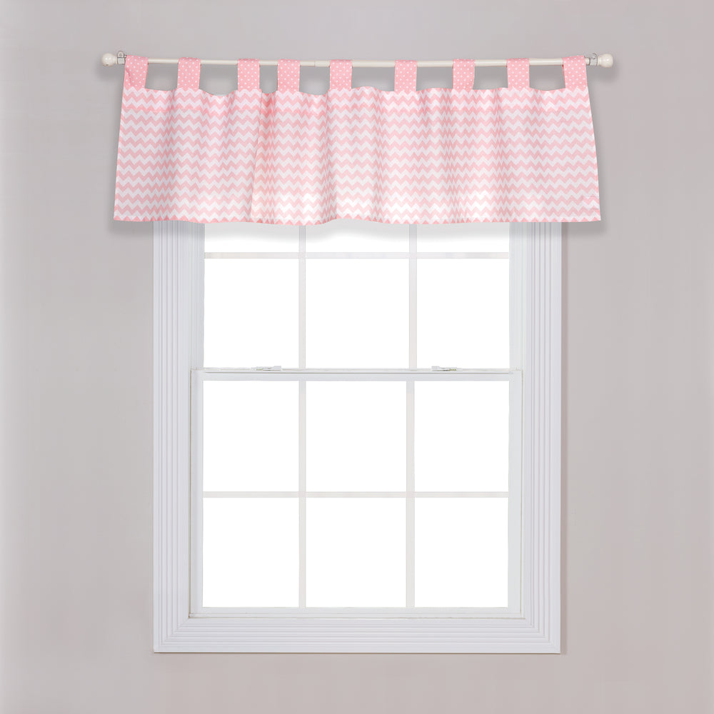 Pink Sky Window Valance
