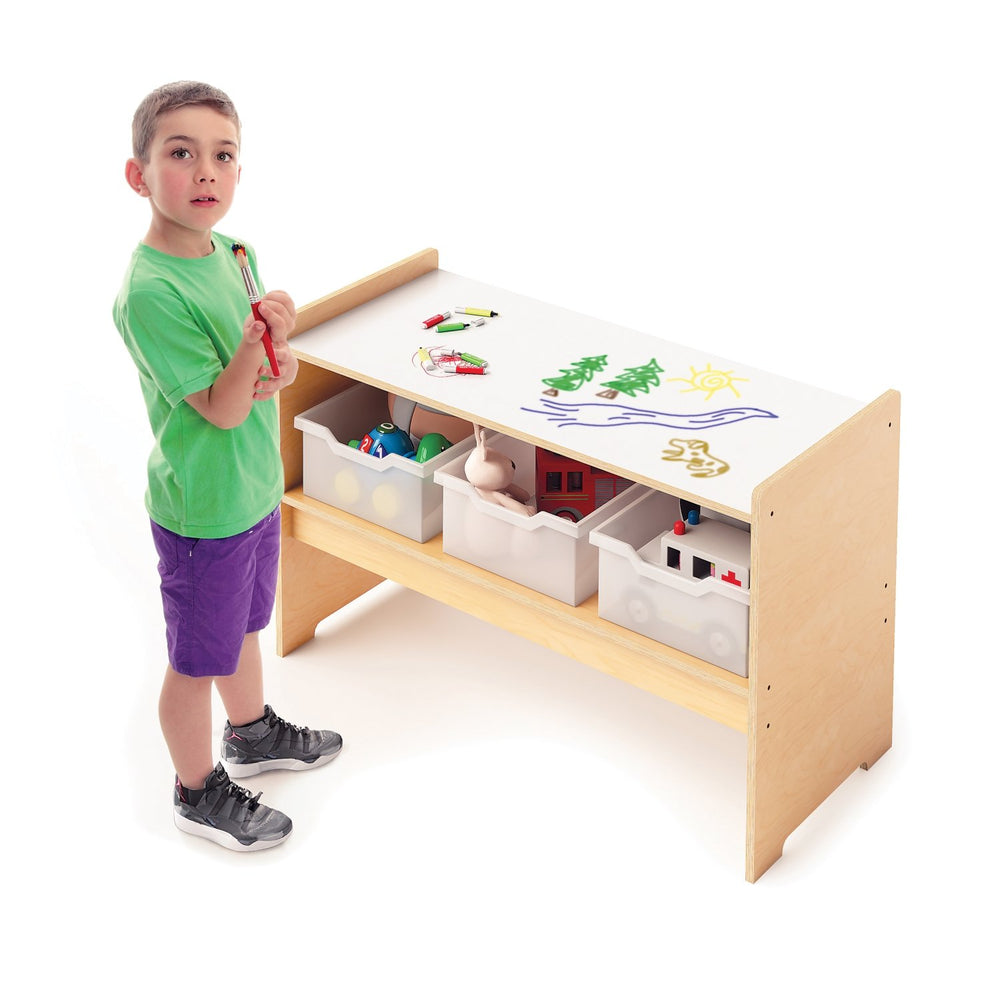 Play Table With Write And Wipe Top