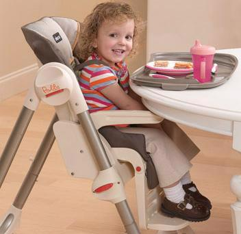 Polly Highchair - Double Pad