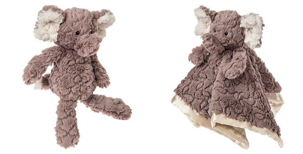 Putty Elephant Soft Toy and Blanket Set