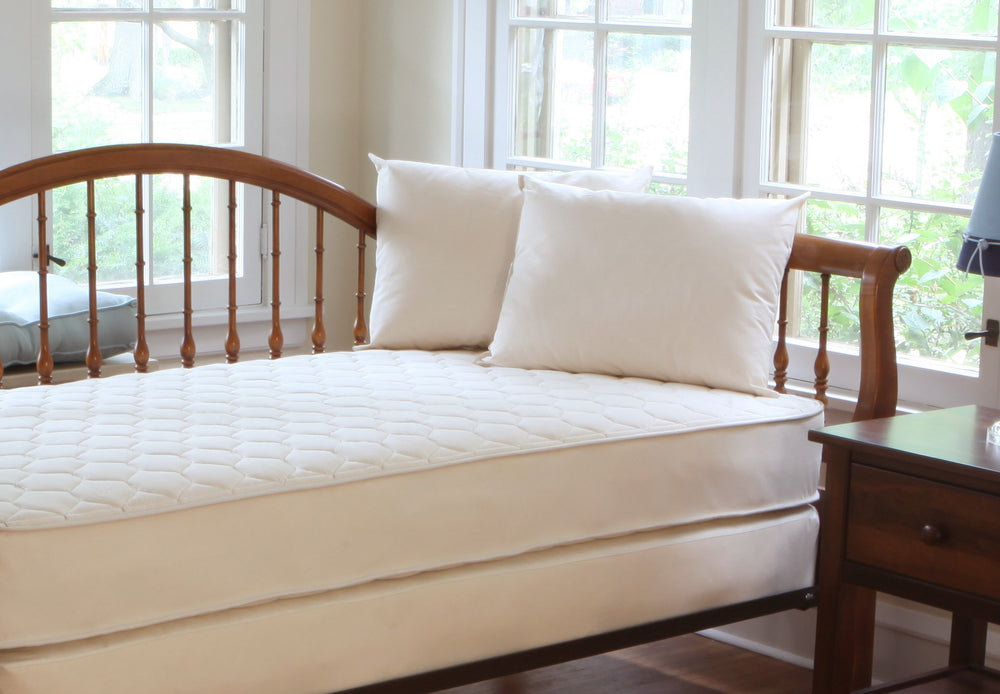 Quilted Organic Cotton Deluxe Kids Mattress