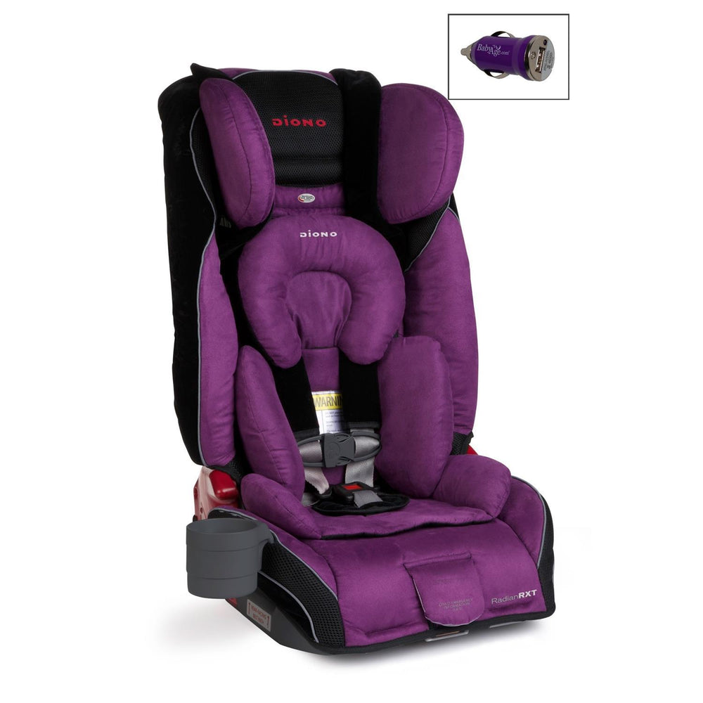 Radian RXT Convertible Car Seat and Mini Auto USB Adapter