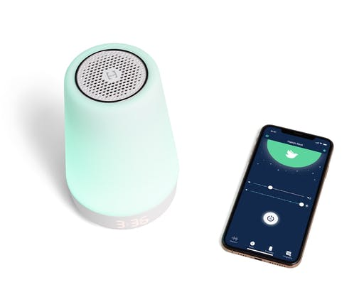 Rest Plus Sound Machine, Night Light, Time-to-Rise, and Audio Monitor