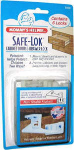 Safe-Lok Drawer & Cabinet Latch