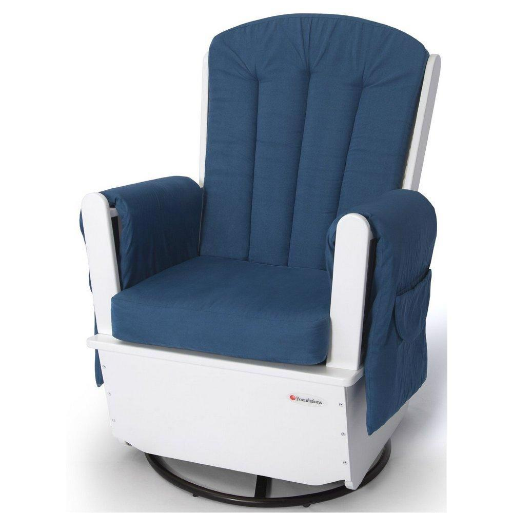 SafeRocker Swivel Glider Rocker w/ Metal Base