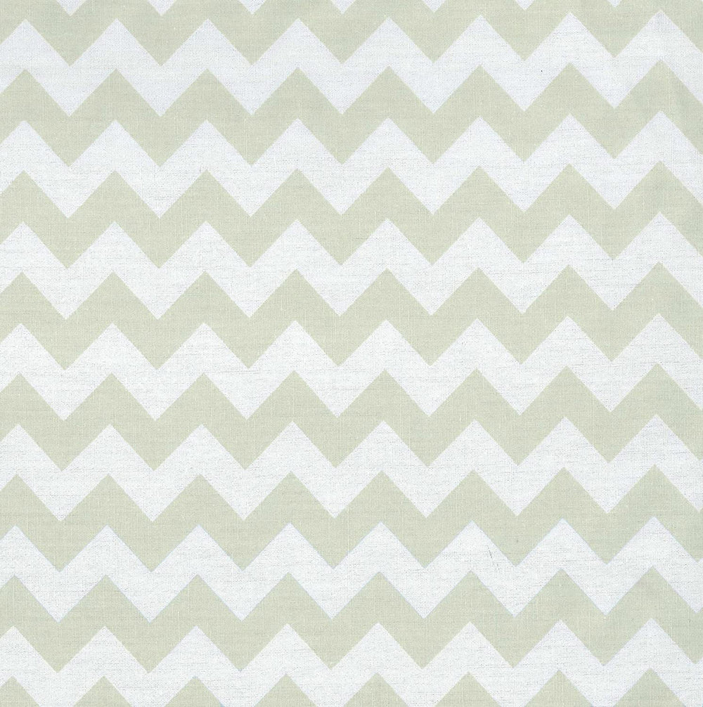 Sea Foam Chevron Changing Pad Cover