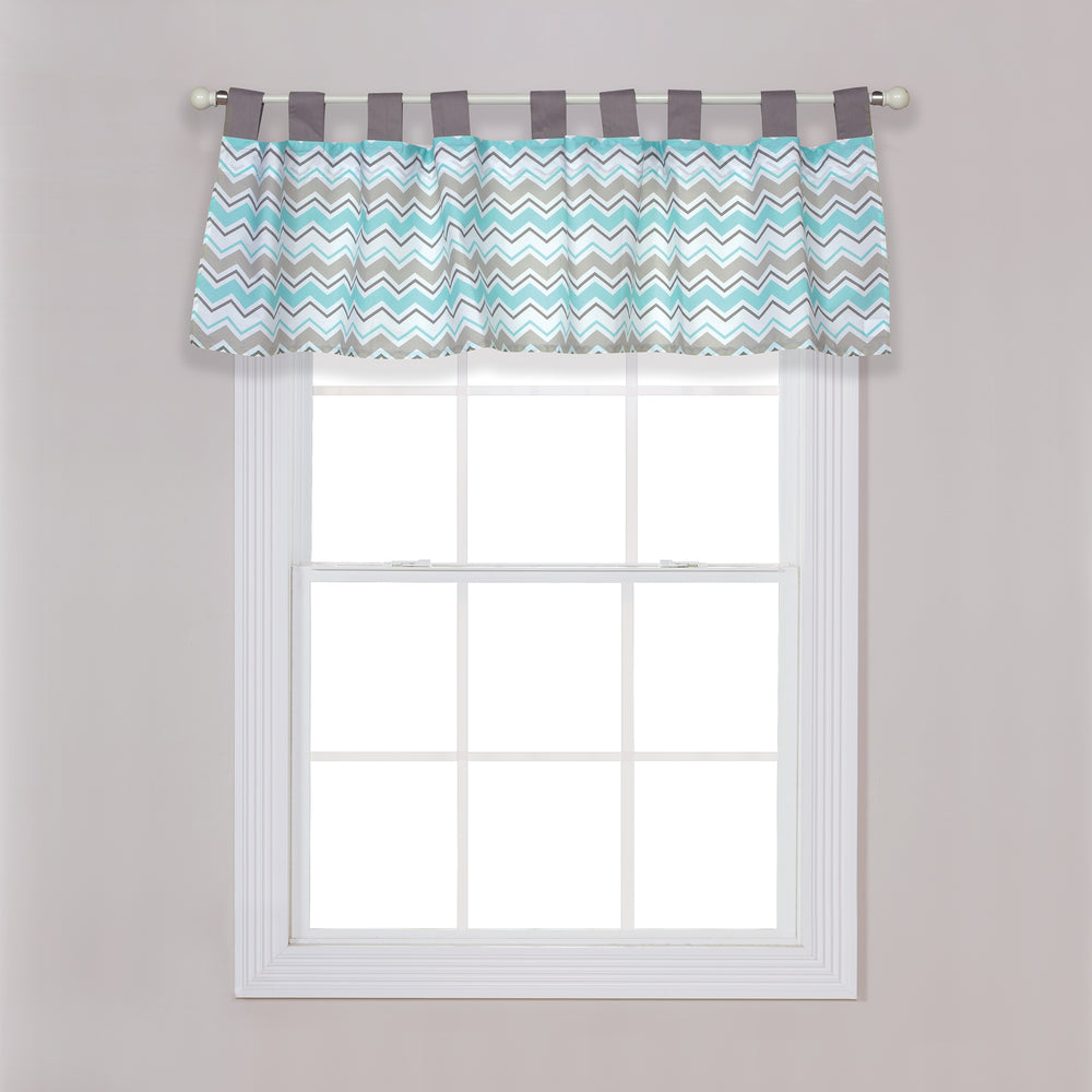 Seashore Waves Window Valance