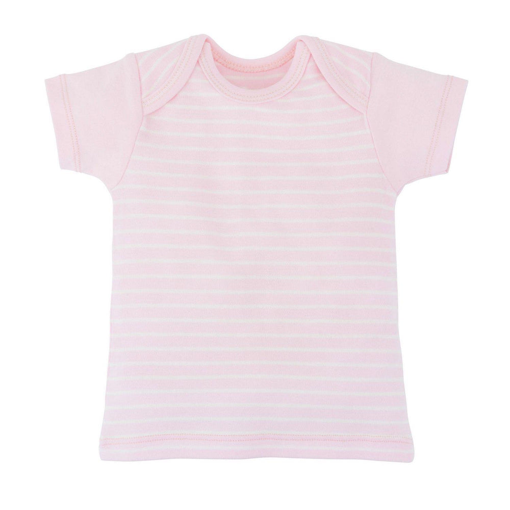 0-3M / Pale Pink Stripe