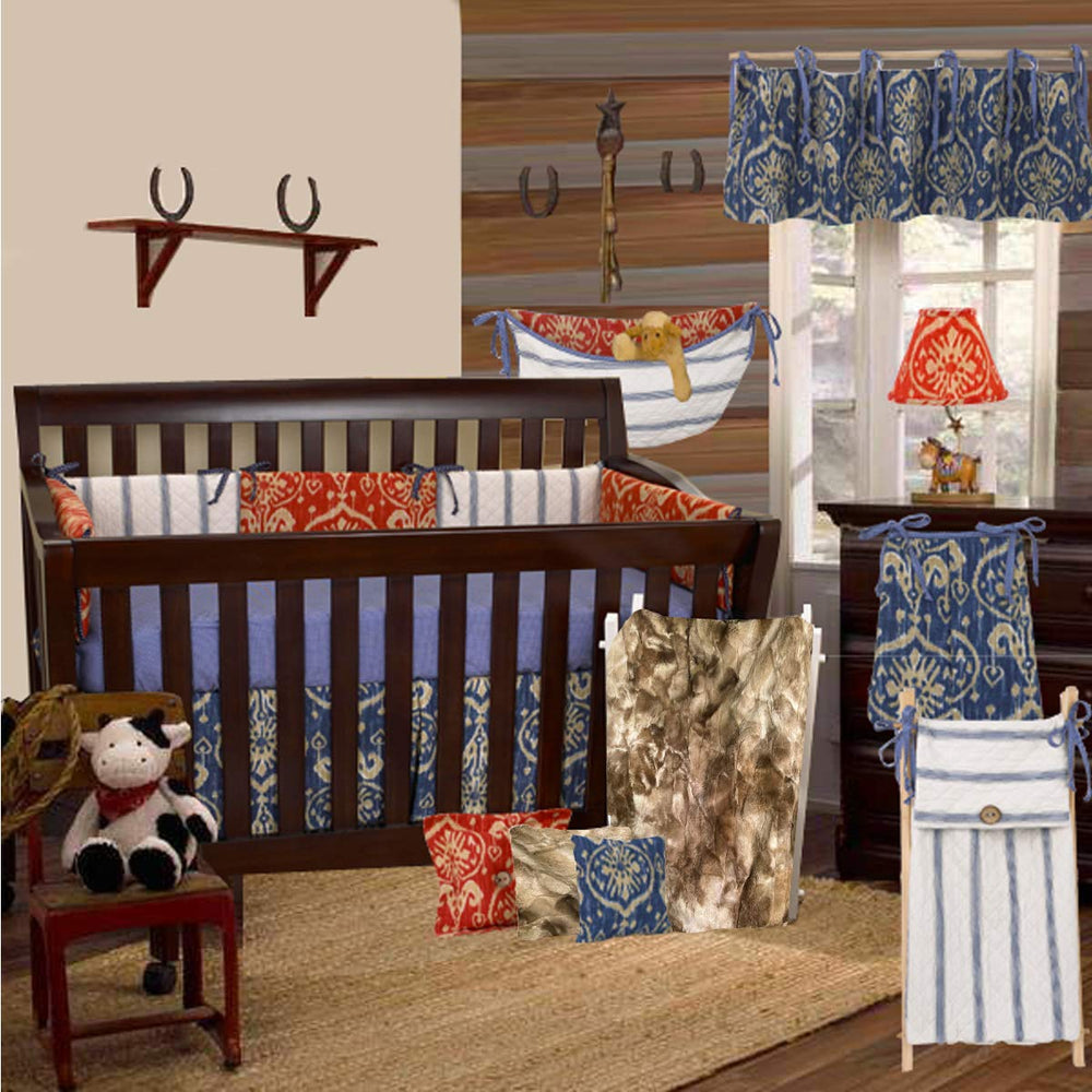 Sidekick 4pc Crib Bedding Set