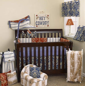 Sidekick 8pc Crib Bedding Set