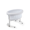 Smart Luce Wooden Bassinet with Light and Fabric