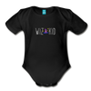 Wiz Kid (dark) Organic Short Sleeve Baby Bodysuit