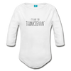 Livin For Thanksgivin Organic Long Sleeve Baby Bodysuit