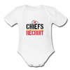 Chiefs Organic Short Sleeve Baby Bodysuit