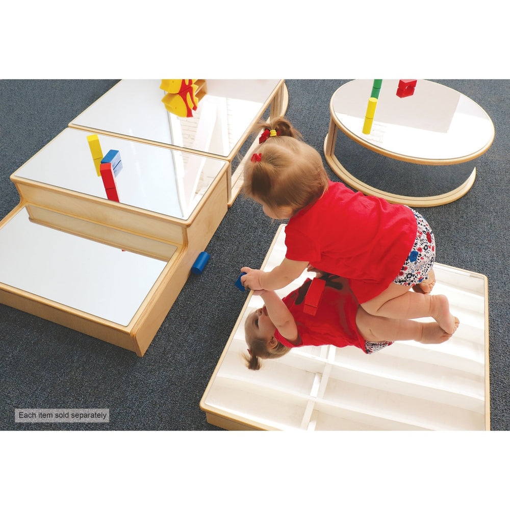 Square Infant Floor Mirror