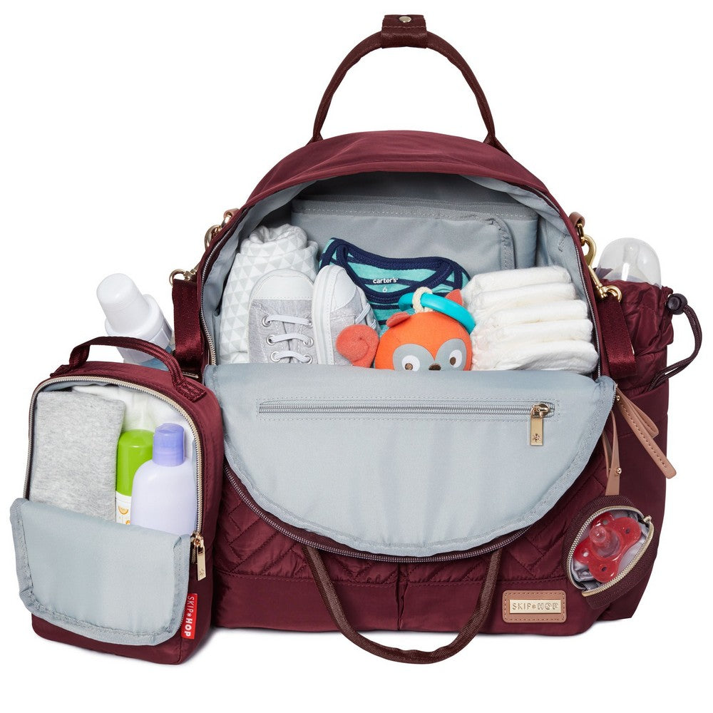 Suite 6pc Diaper Backpack Set