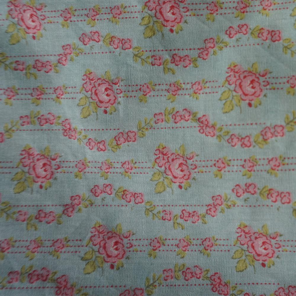 Tea Party Pillow Case w/ Ties