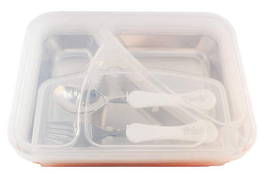 Thinksport Go2 Stainless Steel Lunch Container with Fork and Spoon