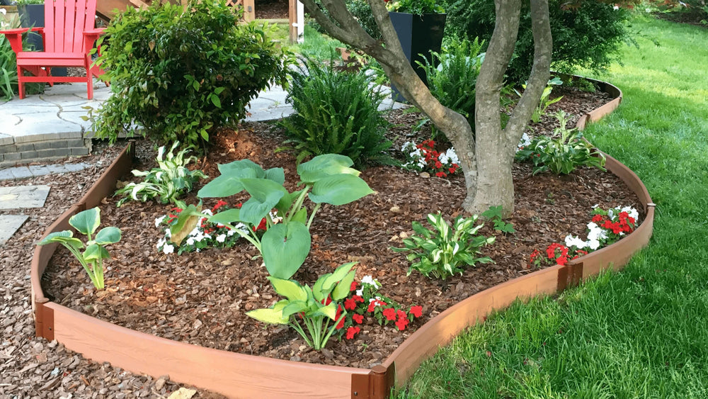 Tool-Free Curved Landscape Edging Kit