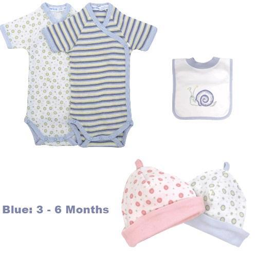 Blue Stripe 3 - 6 Months
