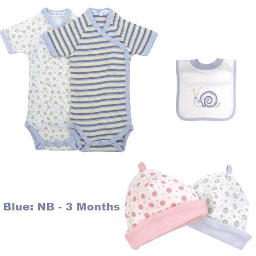 Blue Stripe NB - 3 Months