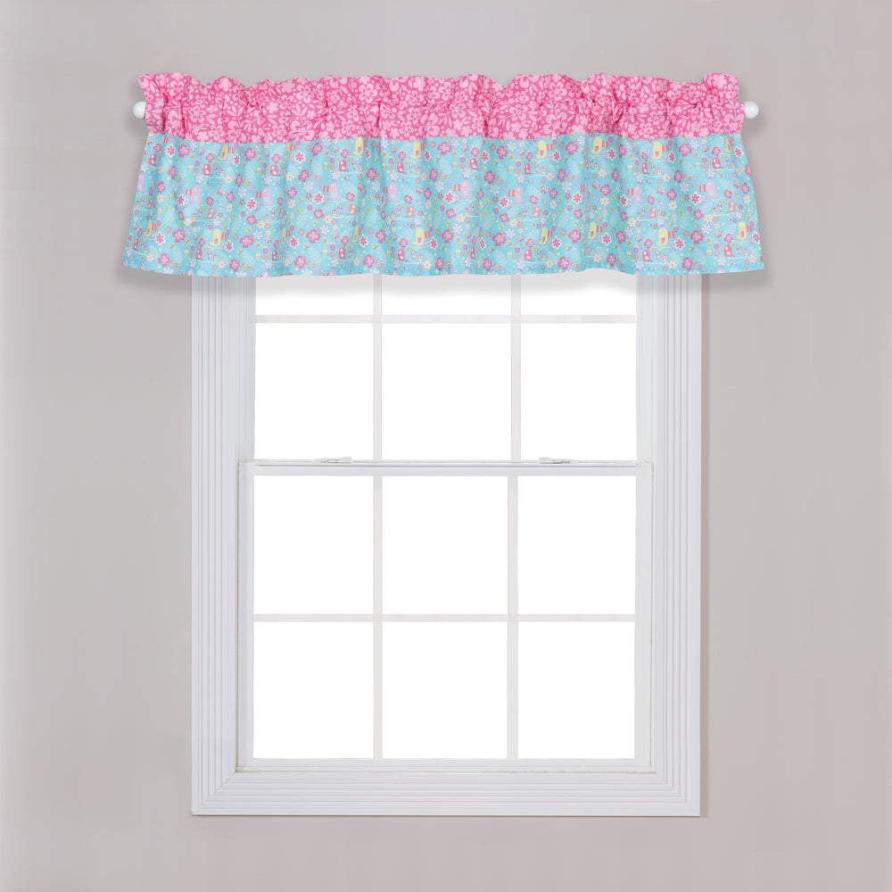 Tropical Tweets Window Valance