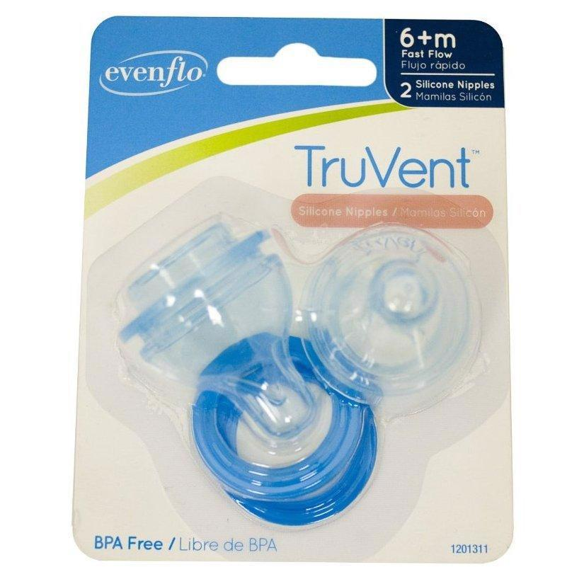 TruVent Nipple and Ring - 2pk