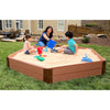 Two Inch Series 7ft. x 8ft. x 11in. Composite Hexagon Sandbox Kit