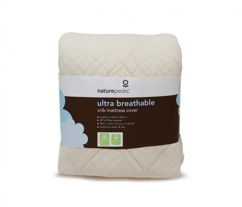 Ultra-Breathable Crib Mattress Pad