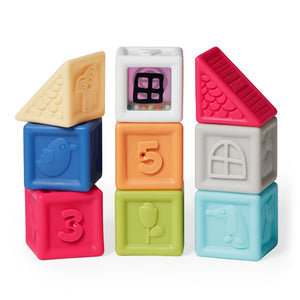 Vibrant Village Squeeze & Squeak Blocks