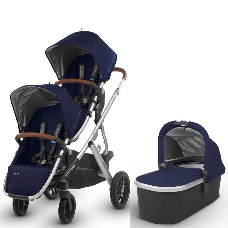 VISTA Stroller and Rumble Seat Bundle