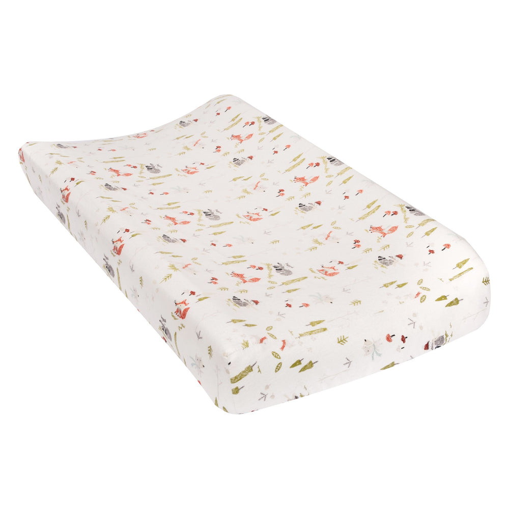 Winter Woods Deluxe Flannel Changing Pad Cover
