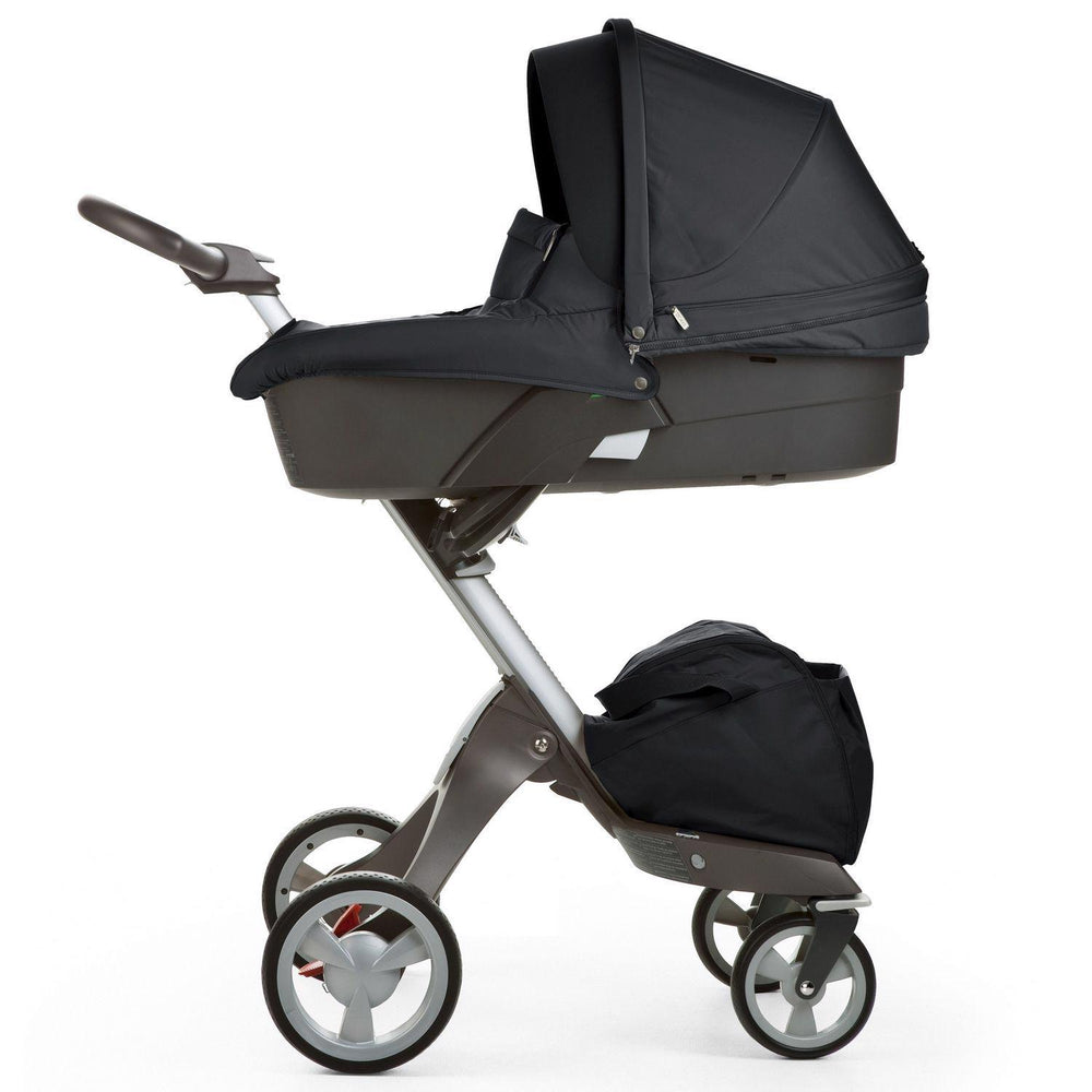 XPLORY V5 Carry Cot - Grey Frame