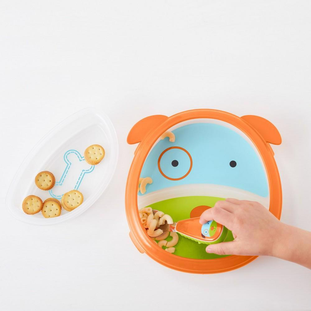 Zoo Smart Serve Plate & Bowl