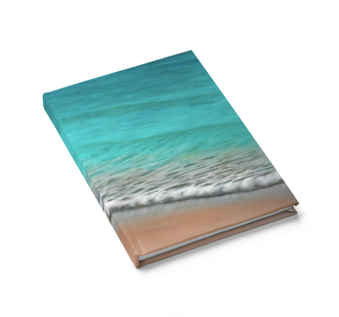 By the Sea- Hard Cover Journal