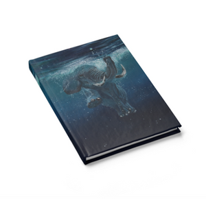Out For a Swim- Hard Cover Journal