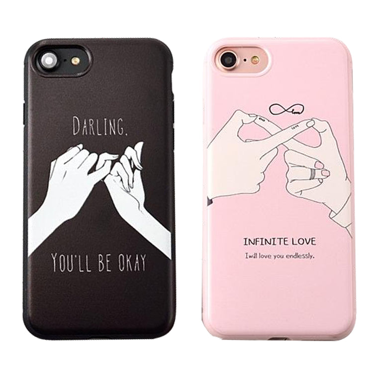 dbd6173403 Fashion Funny Letter Case For iphone 7 Case For iphone7 7 PLus Back Cover  Cute Cartoon