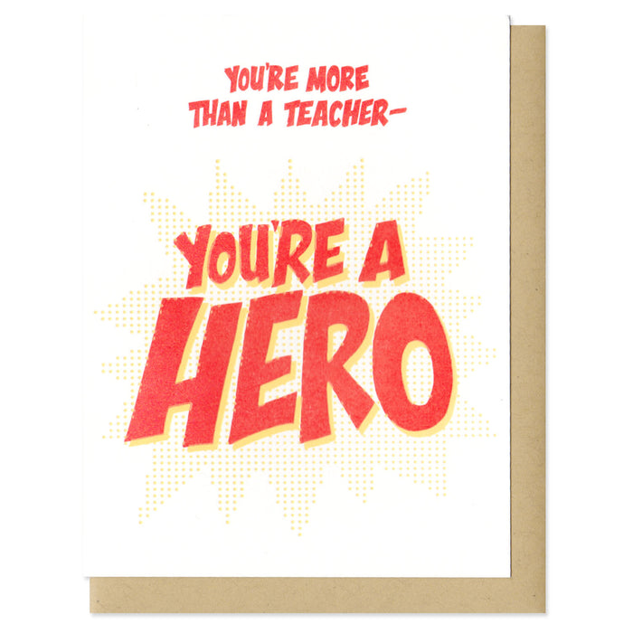 You're More Than A Teacher
