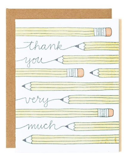 Thank You (Pencils)
