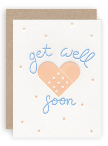 Get Well BandAid (Light)