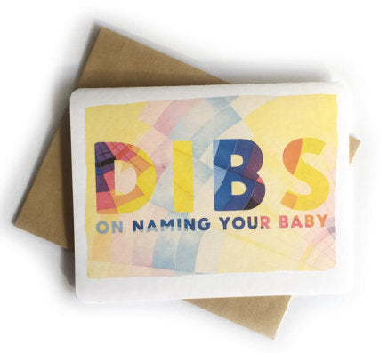 Dibs On Naming Your Baby
