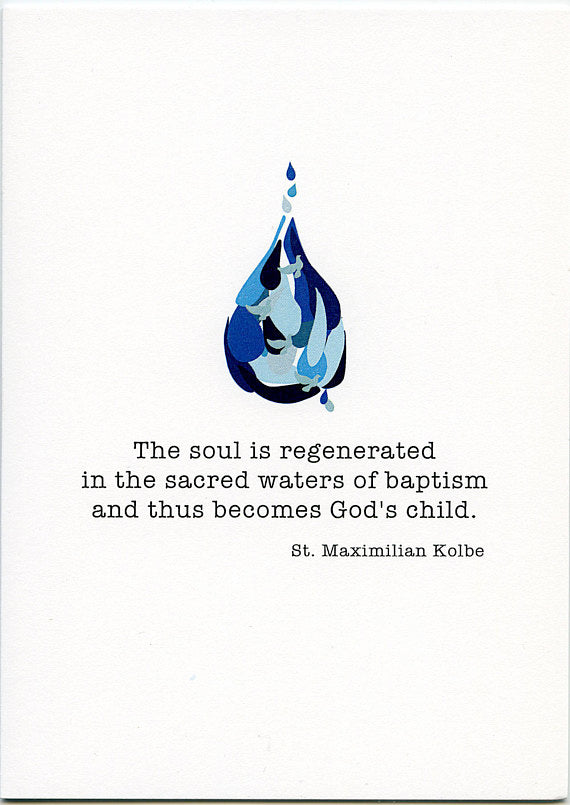 Sacred Waters of Baptism