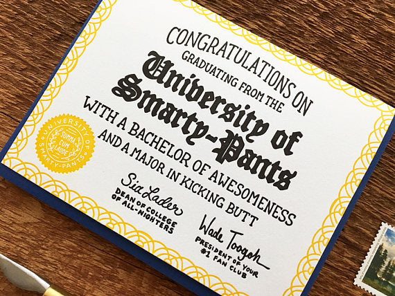 University of Smarty-Pants