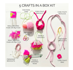LOOME 5-CRAFTS-IN-A-BOX