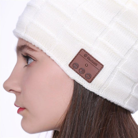 Built-in Bluetooth Fitted Beanie – Urban Snaz 865cc6581f6