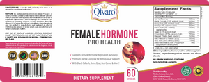 QIH40 - 女性荷爾蒙寶 | FEMALE HORMONE PRO HEALTH by QIVARO