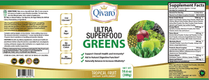 QIVP02 - 超級免疫綠果寶 | ULTRA SUPERFOOD GREENS by QIVARO